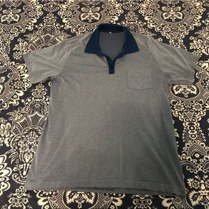 Lululemon Metal Vent Tech Polo Blue